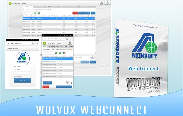 AKINSOFT Wolvox WebConnect 8.03.01